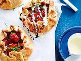 Mini-Crostata mit Erdbeerherz Rezept