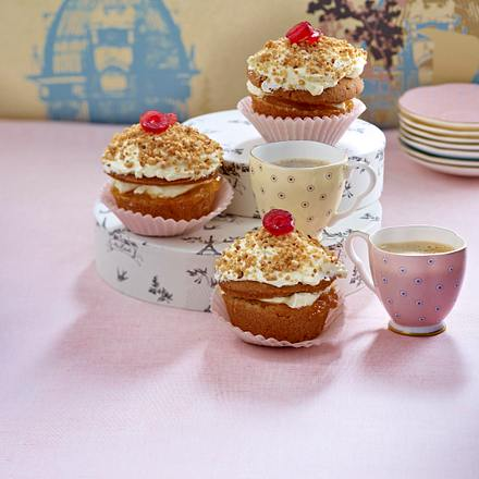"Mini ""Frankfurter Kranz"" (oder Frankfurter Kranz-Cup Cakes) Rezept"
