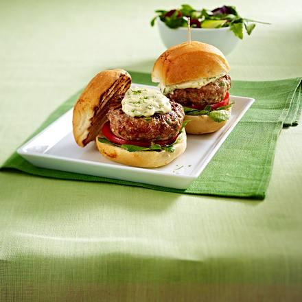 Mini-Grillburger Rezept
