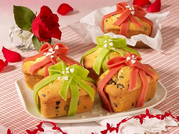 Mini-Kastenkuchen zum Verschenken (Muttertag) Rezept