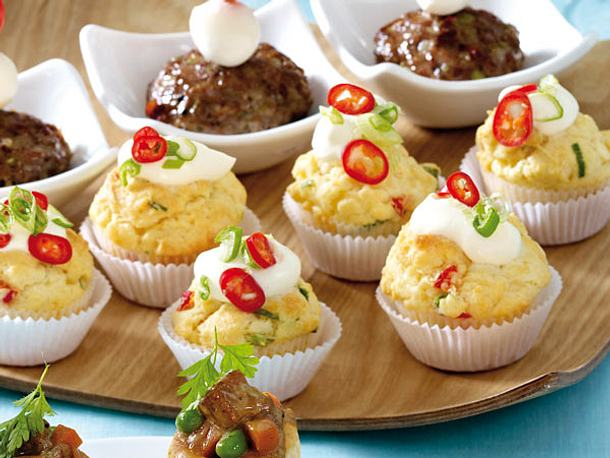 Mini-Muffins Rezept