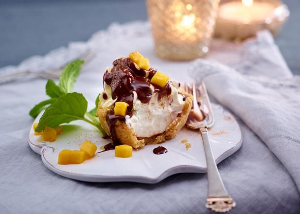 Mini-No-bake-Schmandtörtchen Rezept