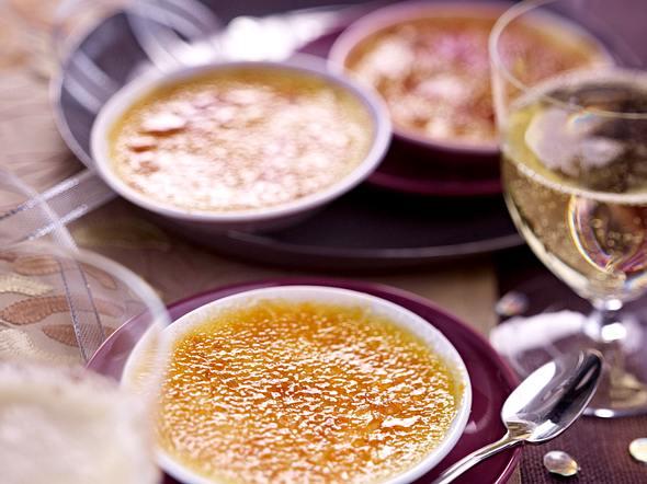 Mini-Orangen-Crème-Brûlée Rezept