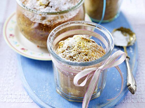 Mini-Pistazien-Möhren-Gugelhupf aus dem Glas Rezept