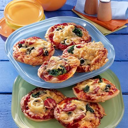 Mini-Pizzen Rezept