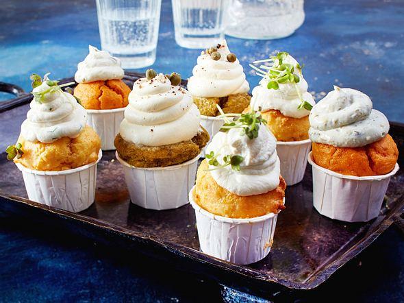 Mini-Polenta-Cupcakes Rezept