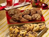 Mini-Schwarz-Weiß-Cookies Rezept