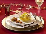 Mini-Würstchen mit Kartoffelsalat Rezept