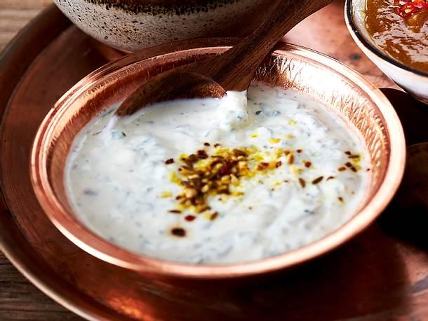 Minty Love (Joghurt-Minz-Dip mit Zatar) Rezept