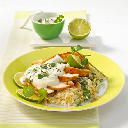 Minz-Joghurt zu Hähnchenfilet Rezept