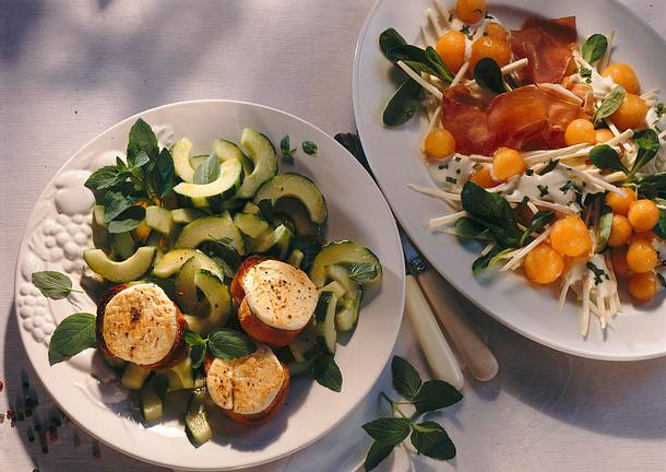 Minze-Gurkensalat Rezept