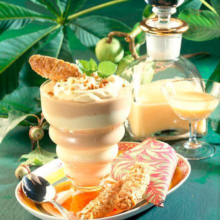 Mocca-Eierlikör-Speise Rezept