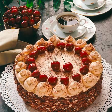 Mocca-Kirsch-Torte Rezept