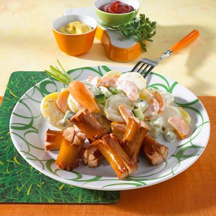 Möhrchen-Kartoffel-Salat von Bugs Bunny Rezept