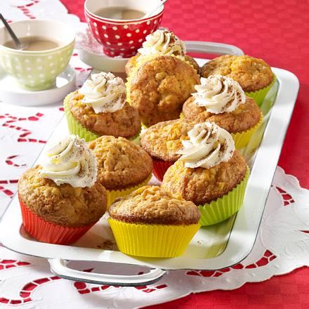 Möhren-Ananas-Muffins Rezept