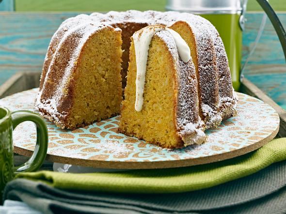 Möhren-Apfel-Napfkuchen (Carrot-Apple-Cake) Rezept