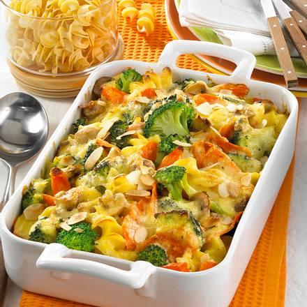 Möhren-Broccoli-Auflauf Rezept