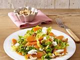 Möhren-Curry-Salat mit Cashewkernen Rezept