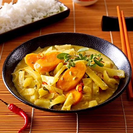 Möhren-Fenchel-Curry Rezept