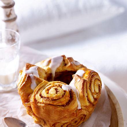 Möhren-Hefe-Zimt-Brot Rezept