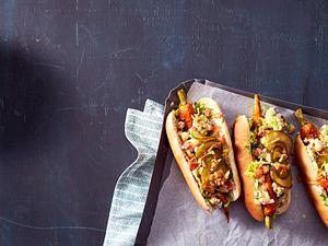 Möhren-Hot Dogs Rezept