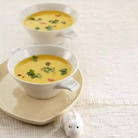 Möhren-Kartoffel Cremesuppe Rezept