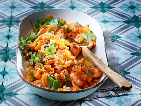 Möhren-Koriander-Salat Rezept