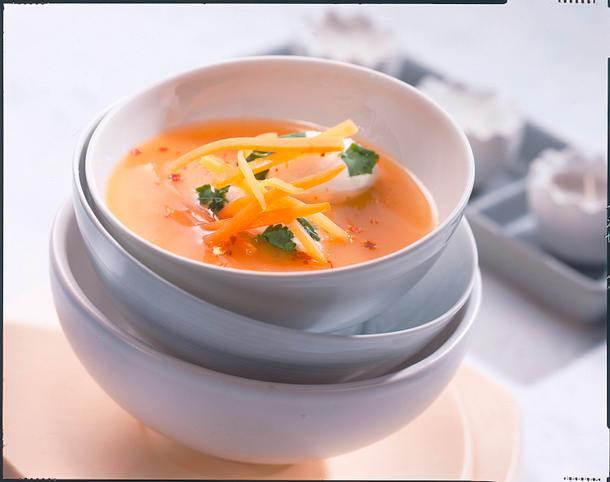 Möhren-Koriander-Suppe Rezept