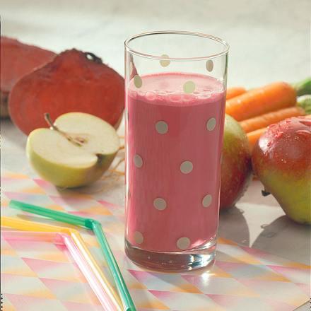Möhren-Milchmix mit roter Bete Rezept