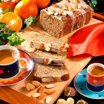 Möhren-Mohn-Kastenkuchen (Diabetiker) Rezept