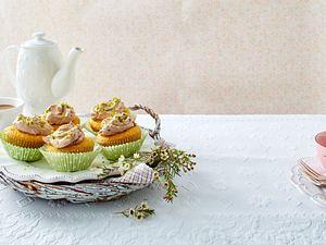 Möhren-Muffins mit Schoko-Frosting Rezept