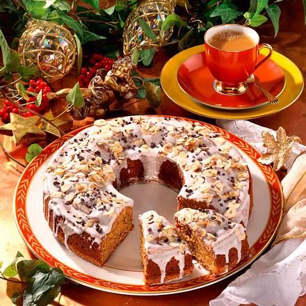 Möhren-Nuss-Kuchen Rezept