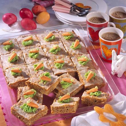 Möhren-Orangen-Kuchen Rezept