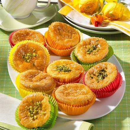 Möhren-Pistazien-Muffins (Diabetiker) Rezept