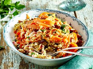 Möhren-Quinoa-Salat Rezept