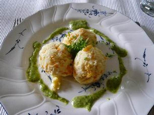 Möhren-Ricotta-Knödelinos Rezept