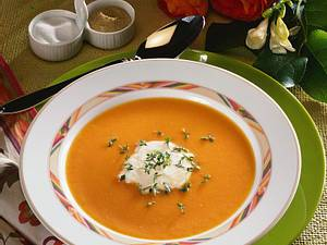 Möhren-Sellerie-Creme-Suppe Rezept