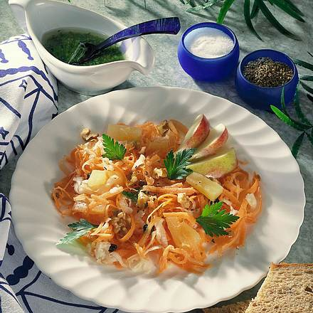 Möhren-Sellerie-Salat Rezept