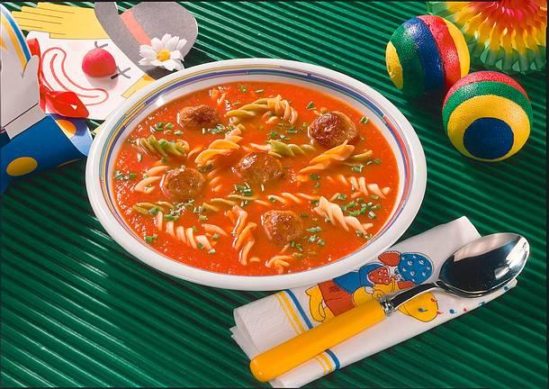 Möhren-Tomaten-Suppe Rezept