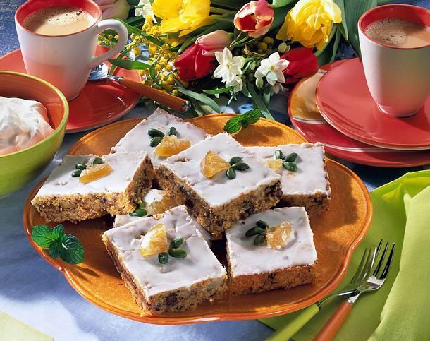 Möhren-Walnuss-Schokoladenkuchen Rezept