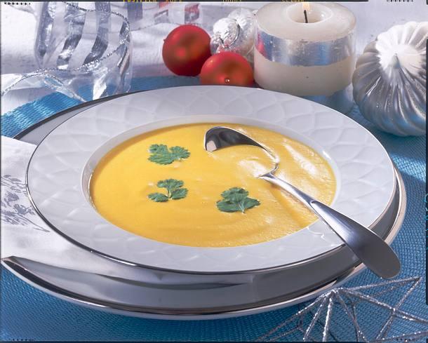 Möhrencreme-Suppe Rezept