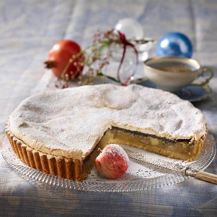 Mohn-Apfel-Tarte Rezept