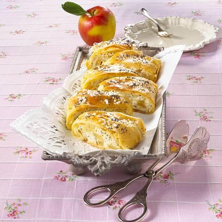 Mohn-Apfelstrudel Rezept