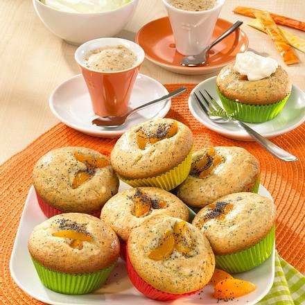 Mohn-Aprikosen-Muffins Rezept
