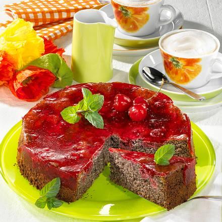 Mohn-Kirschtorte (Diabetiker) Rezept