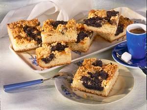 Mohn-Marzipan-Butterkuchen Rezept