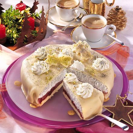 Mohn-Marzipan-Torte Rezept