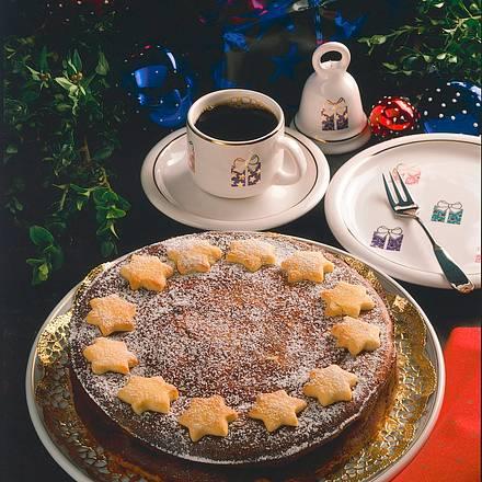 Mohn Quark Torte Mit Sternen Rezept Lecker