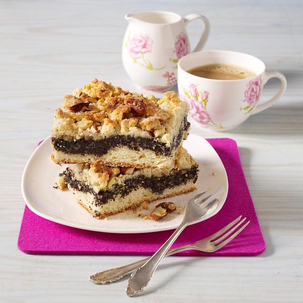 Mohn-Streuselkuchen Rezept