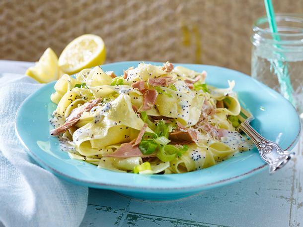 Mohn-Thunfisch-Pasta Rezept
